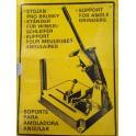 Stojan na brusky S1B Narex 180 a 230 mm