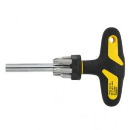 Šroubovák magnetický s nástavci T-rukojeť 8802 10