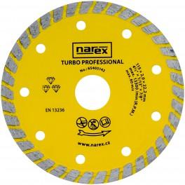 DIA 115 TP Diamantový dělicí kotouč pro stavební materiály TURBO PROFESSIONAL Narex