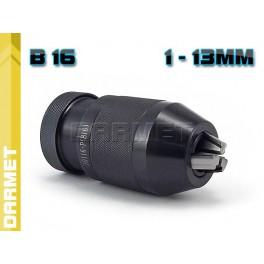 Sklíčidlo 1-13mm B16 rychloupínací 241323 kovové B16 TOS