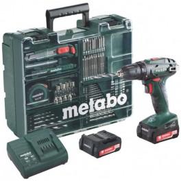 METABO BS 14,4 Li Set aku vrtačka mobilní dílna 2x2.0Ah Li-Ion 602206880