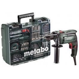 Příklepová vrtačka SBE 650 mobilní dílna METABO