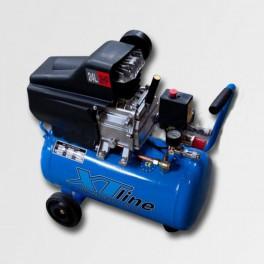 Kompresor XTline XT1002 2HP15KW 8 bar LW, 24 l + 3dílná sada příslušenství ZDARMA